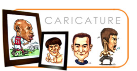 Jazztures Originals - Caricature